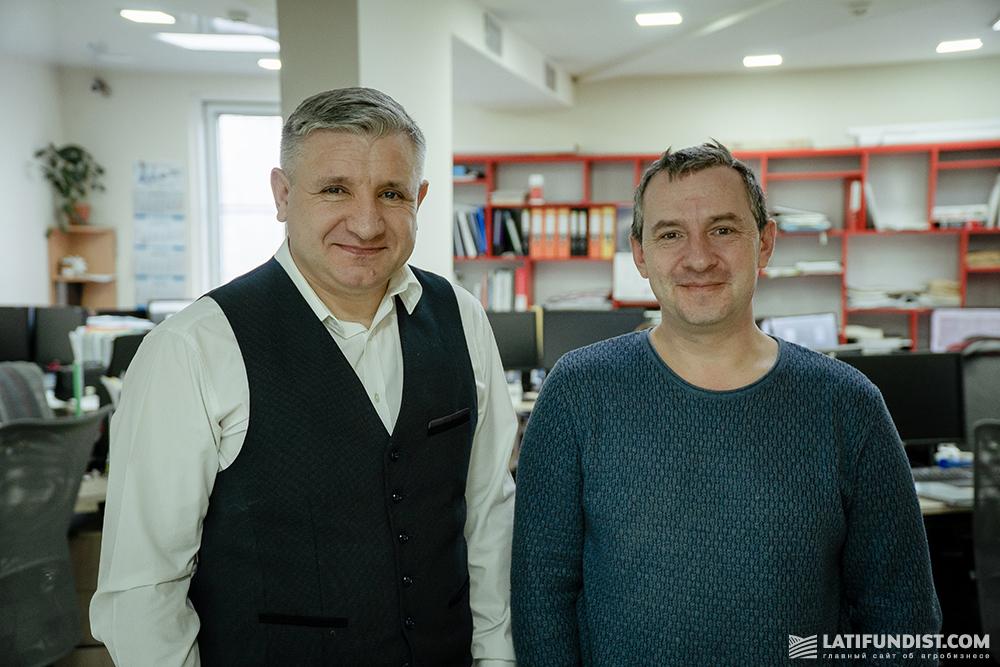 Иван Кунь и Владимир Нереков, главный инженер компании «Интерпроект GmbН»
