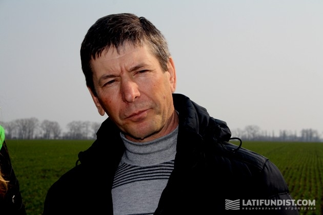Сергей Бондарь, агроном участка «АгроКо»