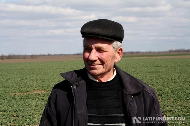 Виктор Гречаный, агроном «Таврийской перспективы»
