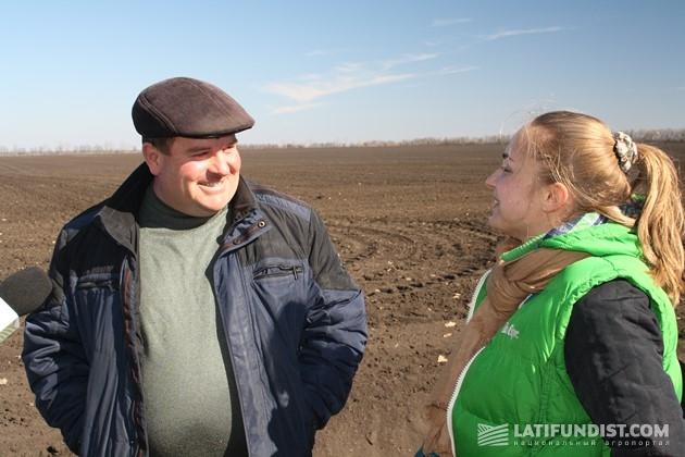 Александр Приходько, главный агроном хозяйства «Оазис»
