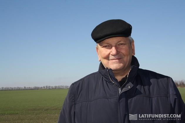 Василий Колесниченко, руководителе фермерского хозяйства «Оазис»