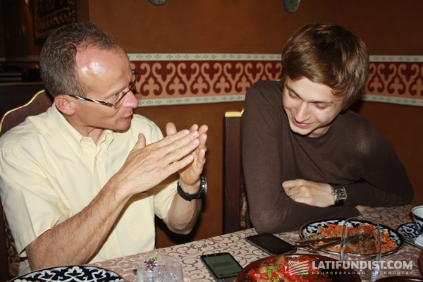 Люк Лоран и Роман Мошин