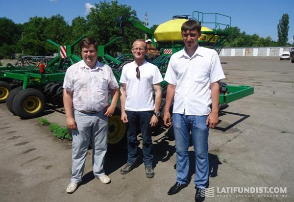 Экипаж ОДА Украина встречается с представителями кластера KSG Agro