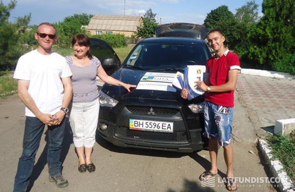 Экипаж ОДА Украина в гостях у ФХ «Натали»