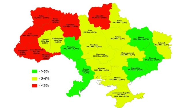 Пшеничный пояс Украины