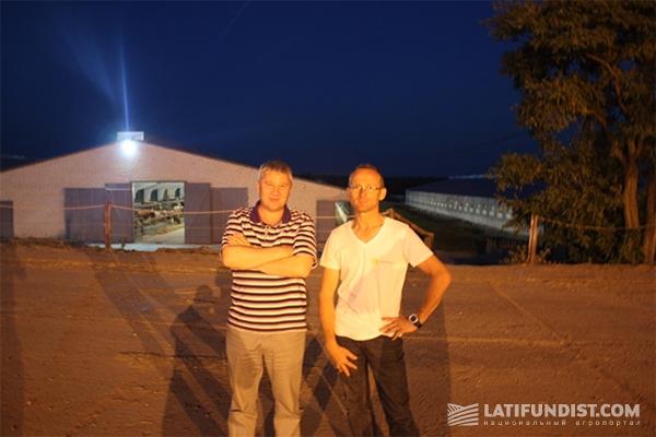 Люк и Виктор Александрович Зверев