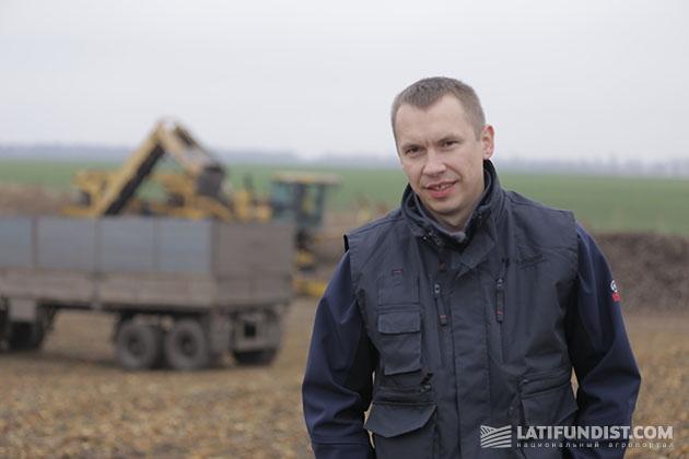 Менеджер по поддержке сельского хозяйства ПАО «Креди Агриколь Банк» Василий Белозерских