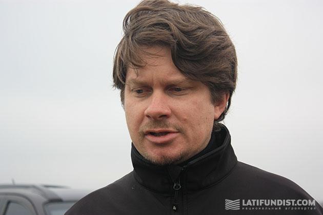 Менеджер по продажам компании «Хольмер-Украина» Александр Мамвросенко