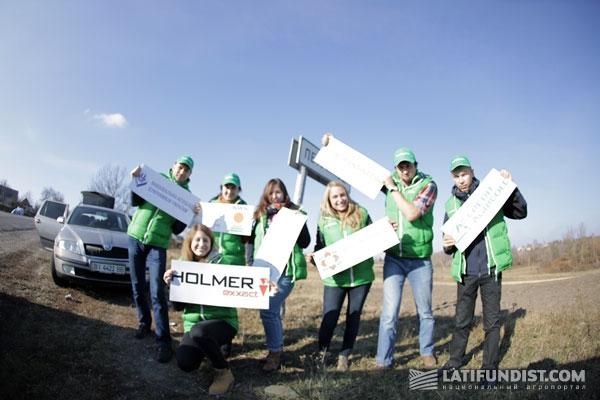 Официальный старт АгроЭкспедиции Сахарная свекла 2014