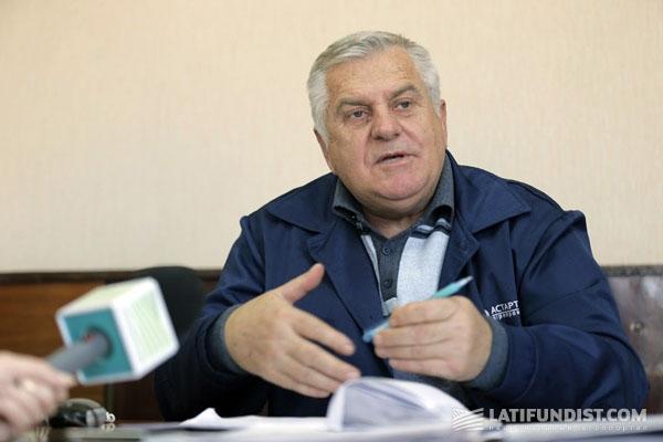 Омельченко Владимир Афанасьевич, директор Ждановского сахарного завода, Астарта-Киев