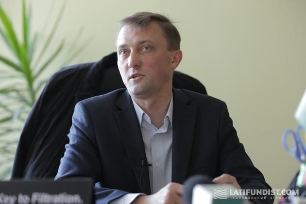 Генеральный директор агрокомплекса «Зеленая долина» Юрий Мороз