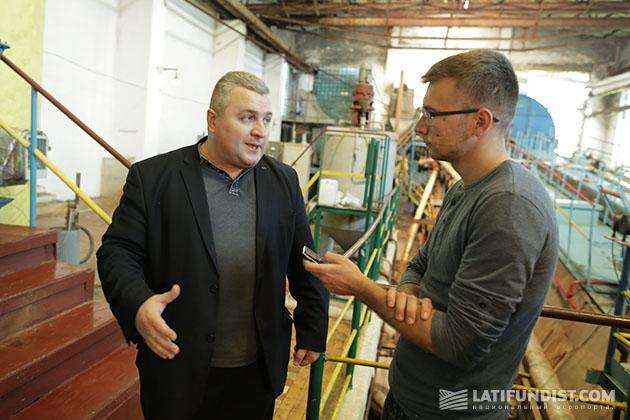 Валерий Медвидь, директор Томашпольского сахарного завода