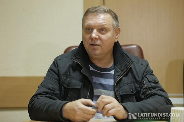 Владимир Мережко, директор ООО Продовольственная компания «Заря Подолья»