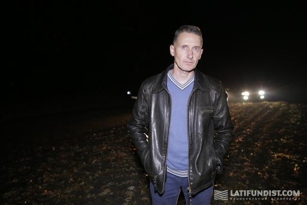 Главный агроном хозяйства Тыран Виталий Юрьевич