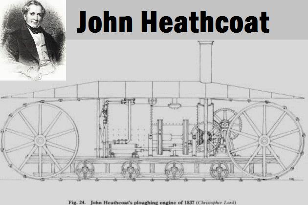 Паровой гусеничный трактор Джона Гиткота