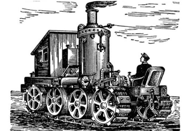 Паровой трактор Федора Блинова