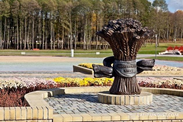 Памятник белорусскому хлебу, г. Лида
