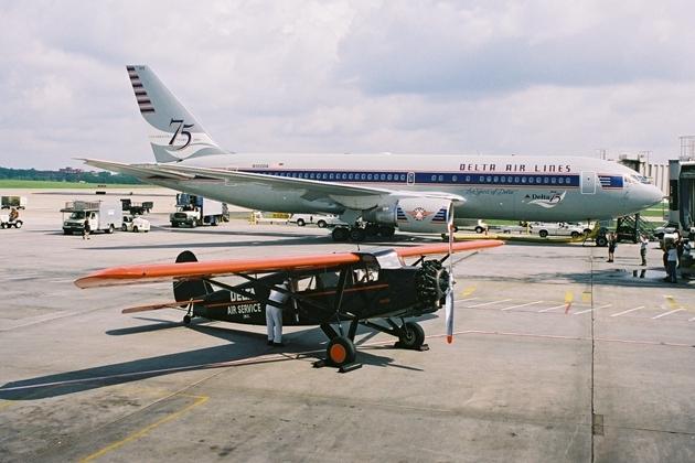 Delta Air Lines. Это уже совсем другая история...