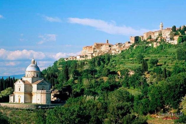 Montepulciano стоит посетить не только ради фестиваля...