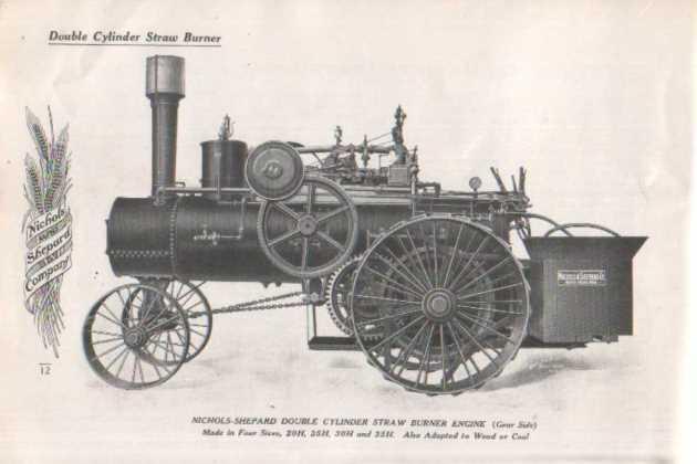 Знакомство с локомобилем от компании Nichols-Shepard предопределило судьбу Генри Форда