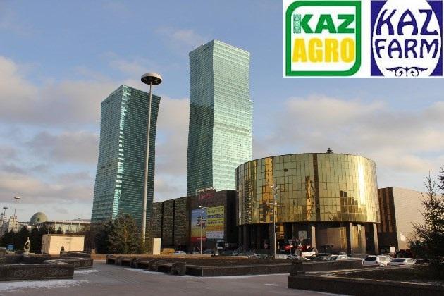 KazAgro 2015 и KazFarm 2015 пройдут в ВЦ Корме
