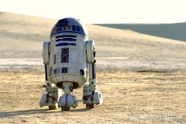 робот дроид R2-D2 из фильма