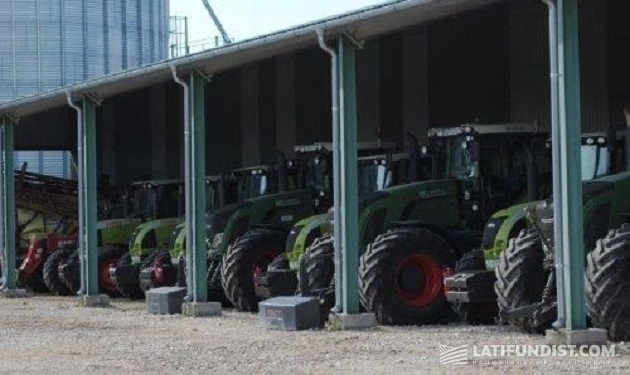 Тракторный парк Ференца – трактора Fendt 936 Vario