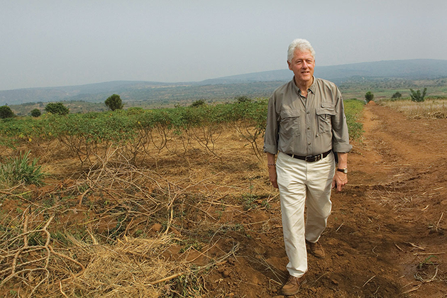 Билл Клинтон на просторах африканского континента
