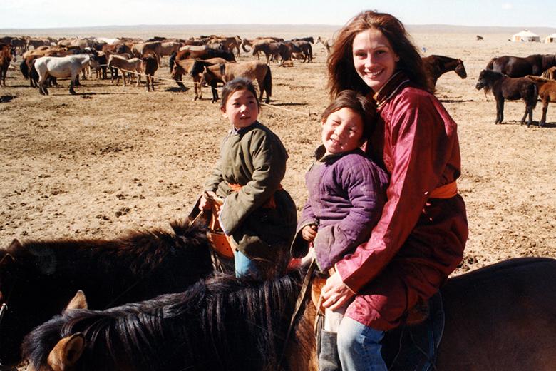 Джулия Робертс в Монголии