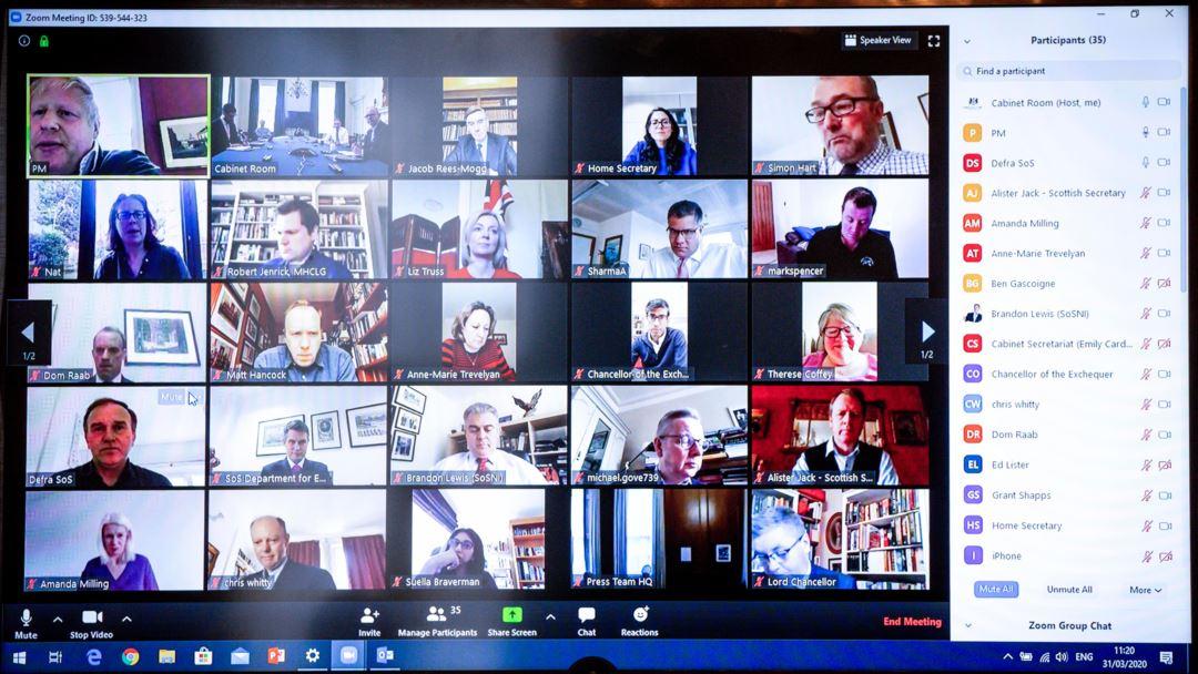 Начинайте онлайн-встречу с неформального общения