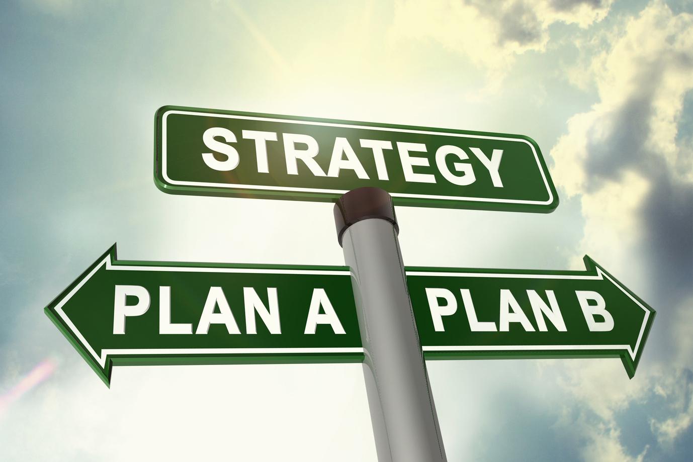 Стратегия — это маршрутная карта из пункта А в пункт Б, на которой отмечены ключевые способы достижения цели