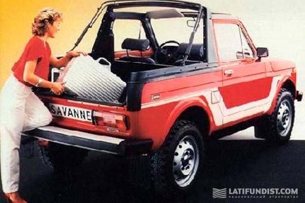 Партия Lada Niva Savanne, ставших в Европе игрушкой для модниц, в СССР была продана передовикам сельхозпроизводства в качестве поощрения
