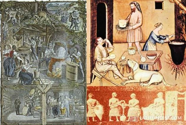 История сыроделия в картинках