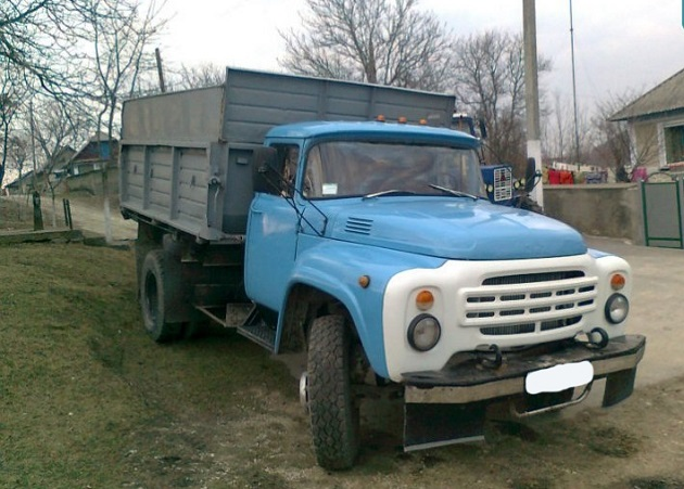 Самосвал-«колхозник» на базе ЗиЛ-130