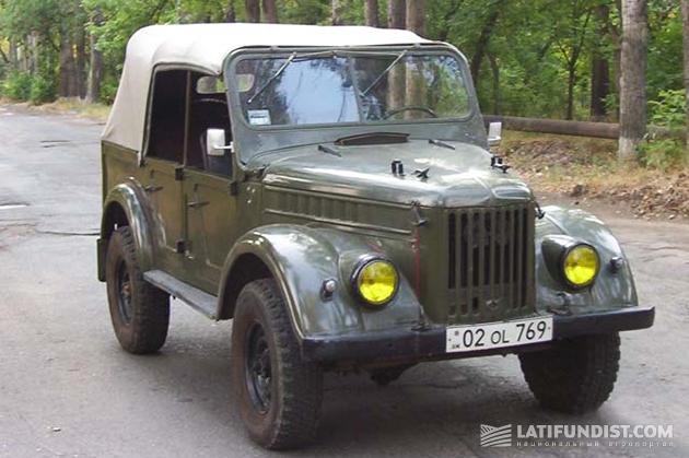 Колхозно-командирский ГАЗ-69А