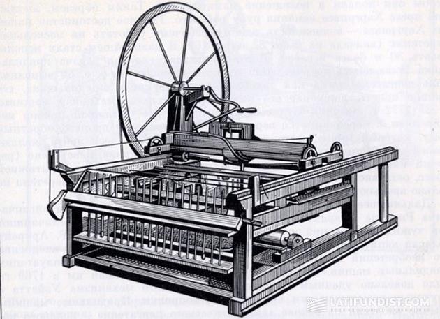 Прядильная машина Харгривса