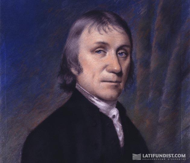 Ellen Sharples, портрет Джозефа Пристли