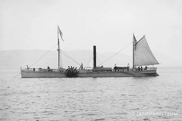 Точная копия «North River Steamboat», спущенная на воду в 1909 году