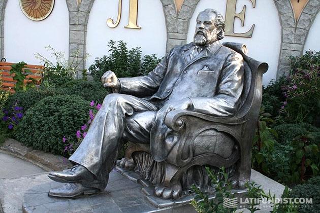 Памятник князю Л.С. Голицину