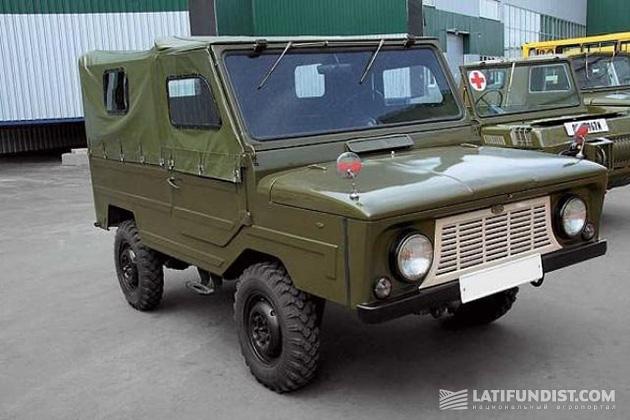 ЛуАЗ-969В - первый серийный советский автомобиль, выпускавшийся специально для сельских жителей