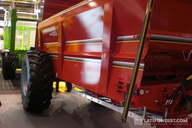 Каждая пятая шина для сельхозтехники в Украине - от компании Росава