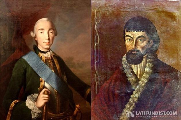Петр III и Емельян Пугачев