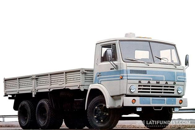 КамАЗ 5320, первый грузовой автомобиль семейства КАМАЗ