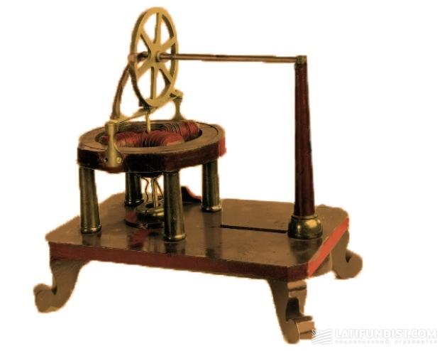 Действующая модель электромотора Томаса Дэвенпорта