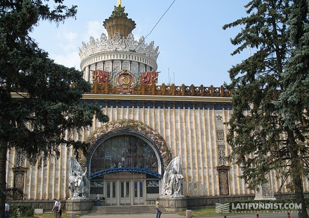 Украинский павильон на ВДНХ