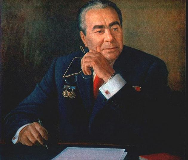 А. Шилов. Портрет Л. И. Брежнева