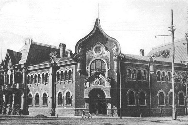 Здание Дворянского земельного и Крестьянского поземельного банков в Полтаве