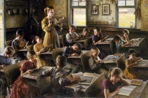 Морган Вестлинг, «Сельская школа»