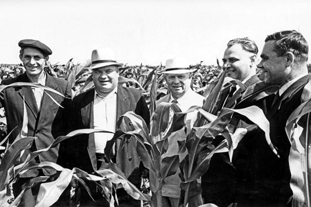 Кукурузу ему тоже не простили...