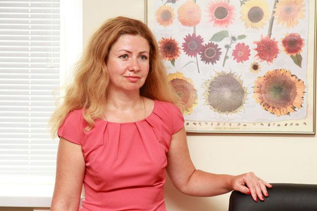 Елена Дунина, генеральный директор DuPont Pioneer Украина